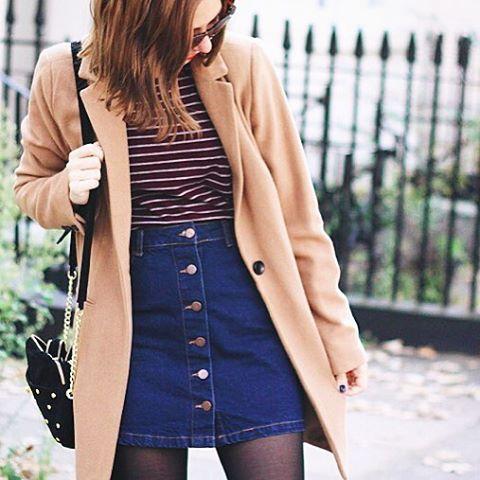 OOTD beige coat
