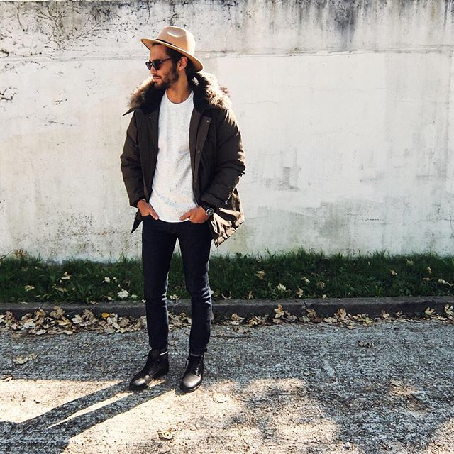 OOTD Nicolas Parka and hat