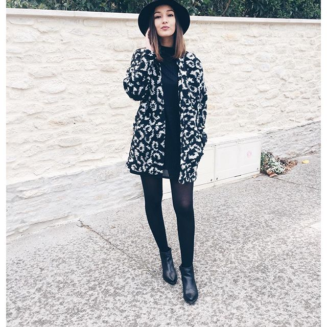 OOTD Black and White